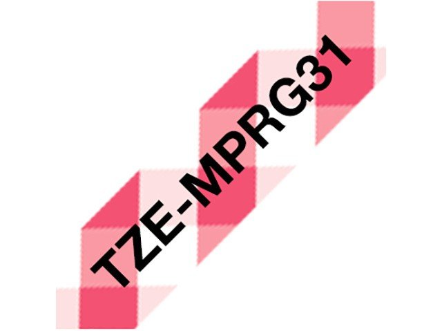 Foto 2 - Fita para Rotulador Brother TZE 12mm - 4 Metros