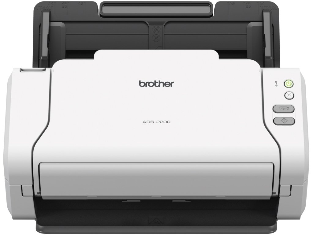Foto 2 - Scanner de Mesa Brother ADS-2200 Colorido - 600dpi