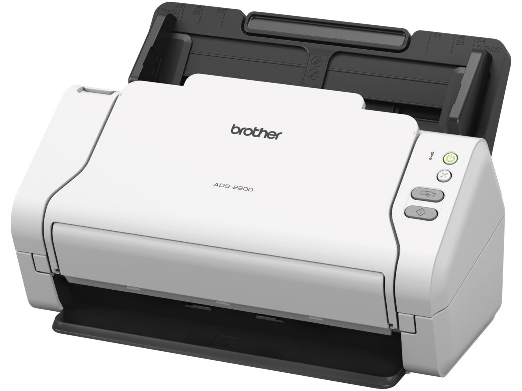 Foto 3 - Scanner de Mesa Brother ADS-2200 Colorido - 600dpi