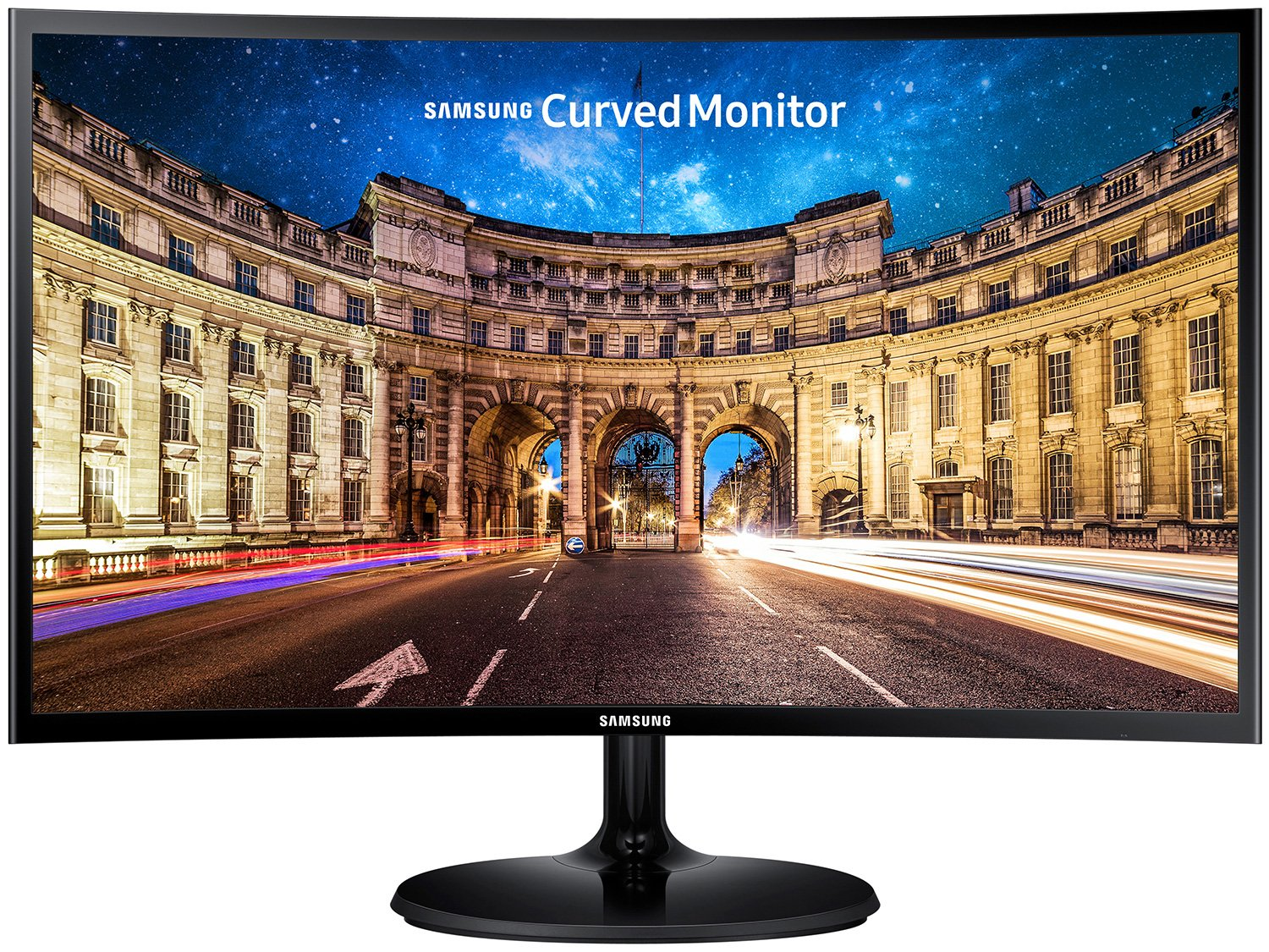 Foto 2 - Monitor para PC Full HD Samsung LED Curvo 24 - C24F390F
