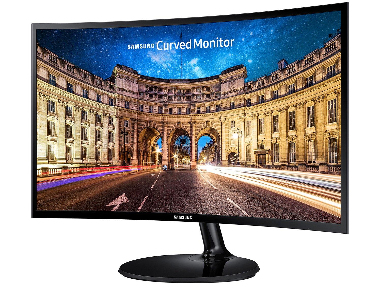Foto 4 - Monitor para PC Full HD Samsung LED Curvo 27 - C27F390F