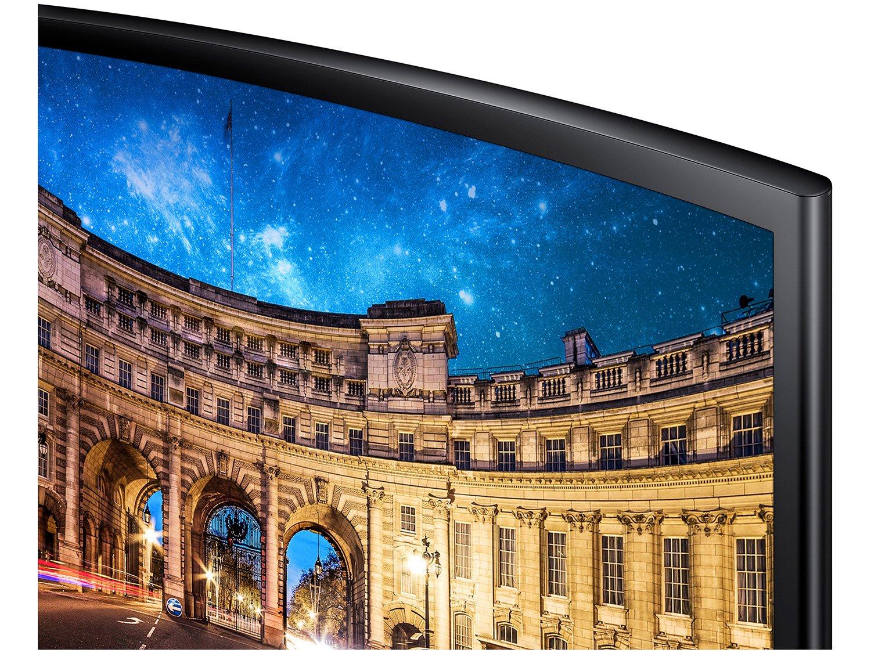 Foto 7 - Monitor para PC Full HD Samsung LED Curvo 27 - C27F390F