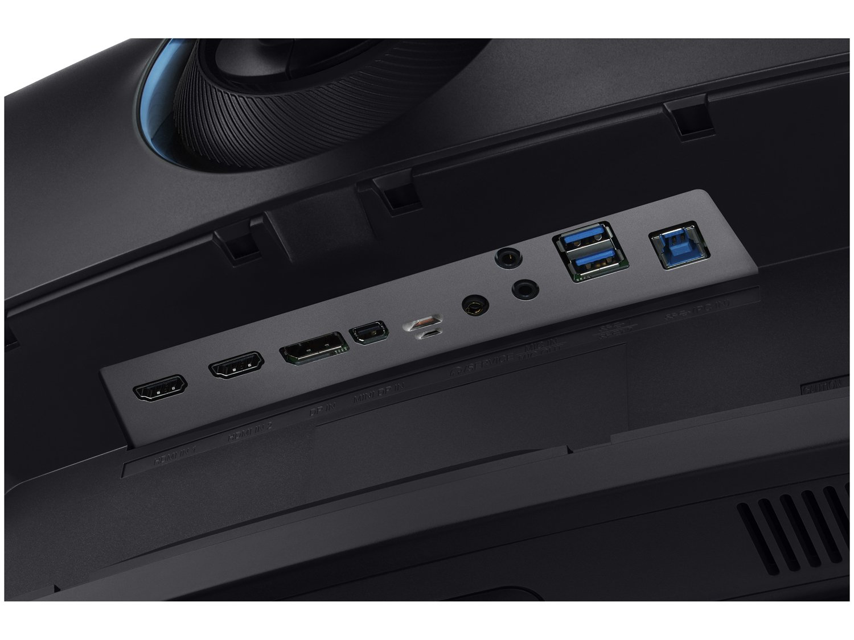 Foto 12 - Monitor Samsung QLED Curvo 49 Full HD Ultra Wide - C49HG90 2 HDMI 1 USB