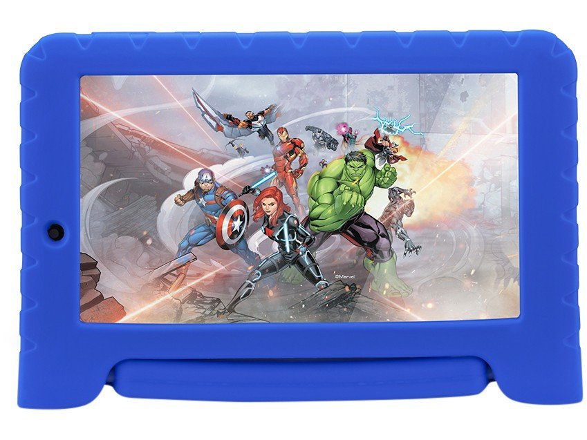 Foto 3 - Tablet Multilaser Disney Avengers Plus 8GB 7 - Wi-Fi Android 7.0 Proc Quad Core Câmera Integrada