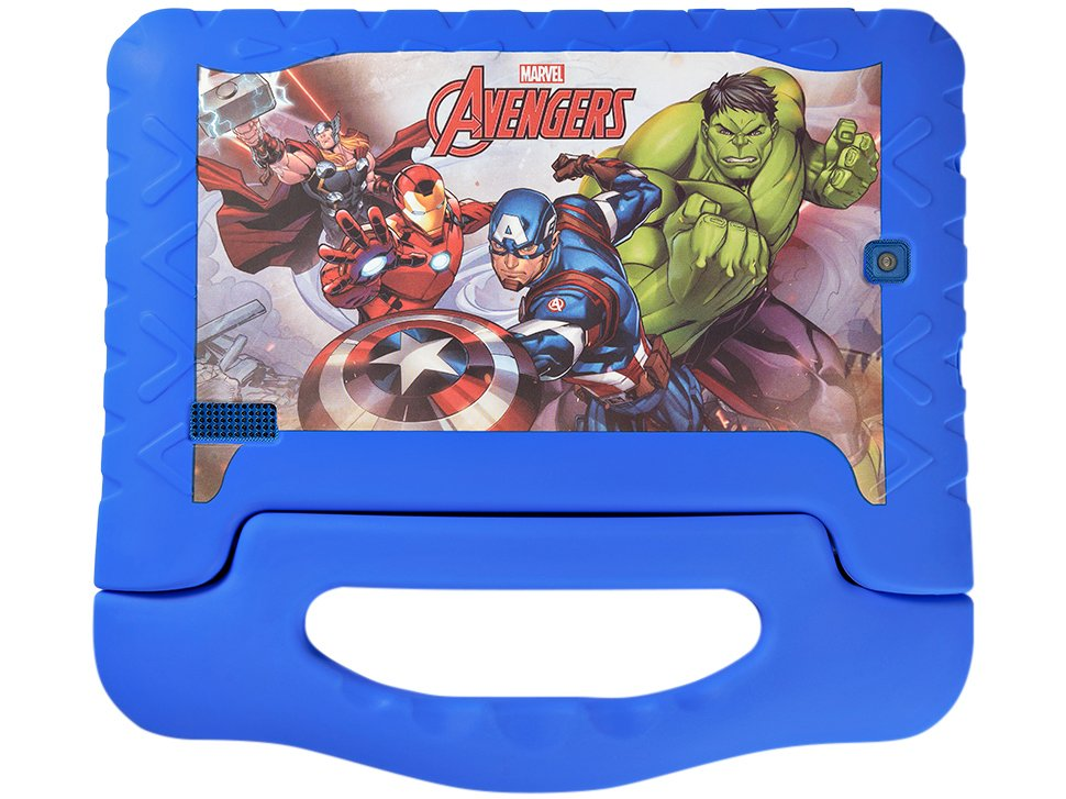 Foto 5 - Tablet Multilaser Disney Avengers Plus 8GB 7 - Wi-Fi Android 7.0 Proc Quad Core Câmera Integrada