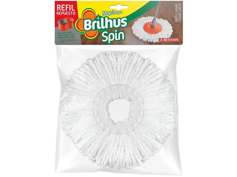 Mop Giratório Bettanin Brilhus Spin - com Balde Microfibra - 4