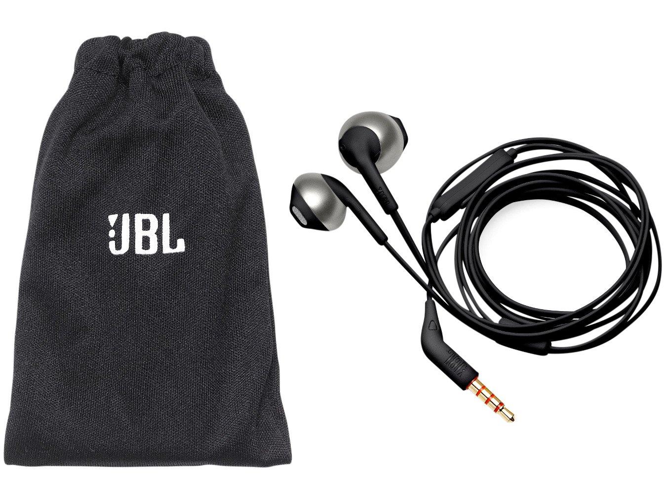 Fone de Ouvido Intra Auricular JBL com Microfone - Cabo P2 T205 - 1