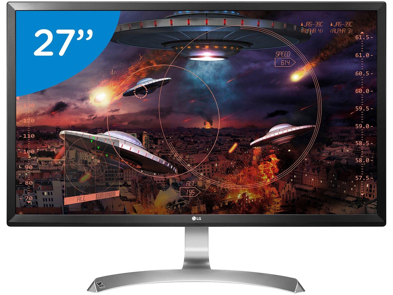 Foto 1 - Monitor LG LED 27 IPS Ultra HD/4K - Widescreen 27UD59-B