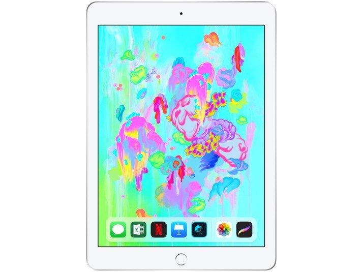 Foto 2 - iPad 6 Apple 32GB Prata Tela 9.7 Retina - Proc. Chip A10 Câm. 8MP + Frontal iOS 11 Touch ID