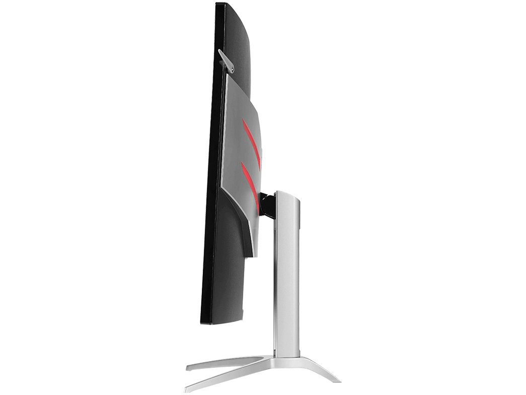 Foto 4 - Monitor Gamer AOC LCD Curvo 31,5 IPS Full HD - Widescreen Agon