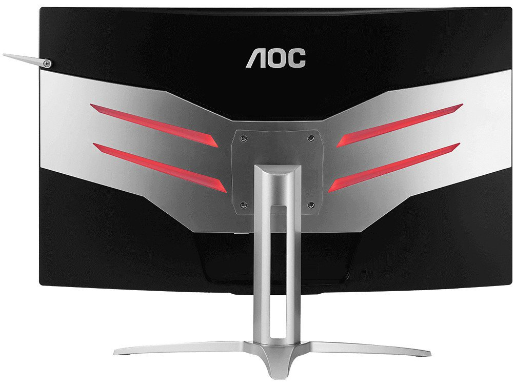 Foto 5 - Monitor Gamer AOC LCD Curvo 31,5 IPS Full HD - Widescreen Agon