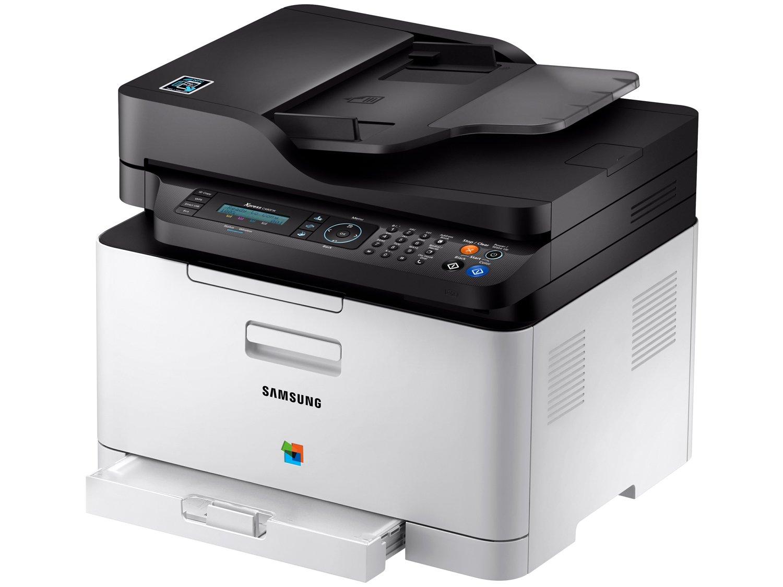 Foto 1 - Impressora Multifuncional Samsung Xpress C480 - Laser Wi-fi Colorida LCD 2 Linhas USB NFC