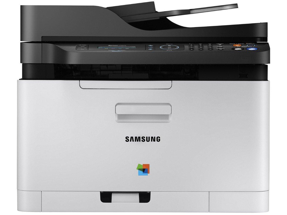 Foto 2 - Impressora Multifuncional Samsung Xpress C480 - Laser Wi-fi Colorida LCD 2 Linhas USB NFC
