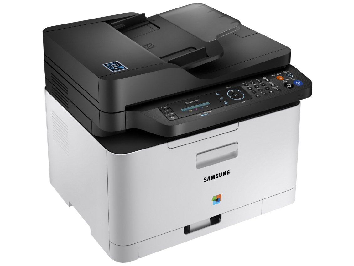 Foto 3 - Impressora Multifuncional Samsung Xpress C480 - Laser Wi-fi Colorida LCD 2 Linhas USB NFC