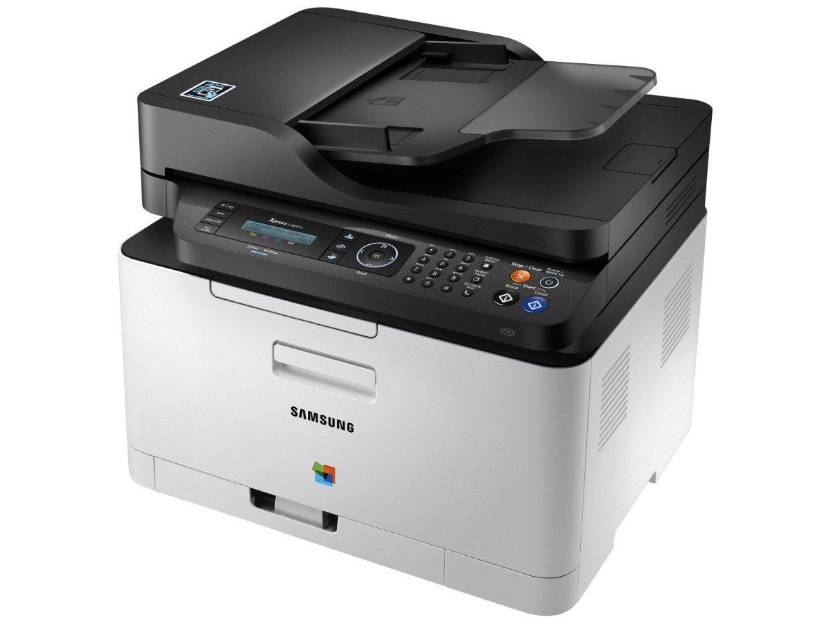 Foto 4 - Impressora Multifuncional Samsung Xpress C480 - Laser Wi-fi Colorida LCD 2 Linhas USB NFC