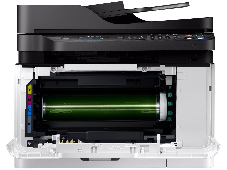 Foto 8 - Impressora Multifuncional Samsung Xpress C480 - Laser Wi-fi Colorida LCD 2 Linhas USB NFC