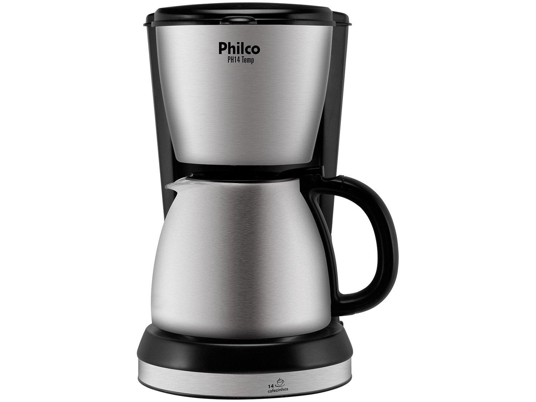 Cafeteira Elétrica Philco PH14 Temp - Aço Escovado - 110 V - 2