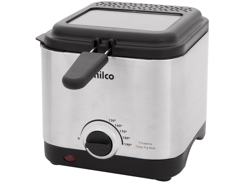Fritadeira com Óleo Philco Deep Fry 1,8L - Inox - 110V