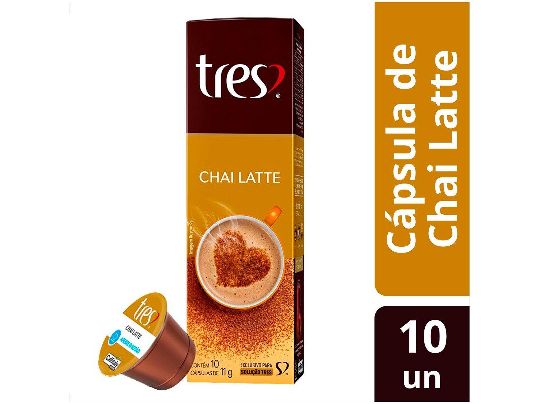 Foto 2 - Cápsula de Chai Latte 3 Corações TRES - 10 Unidades