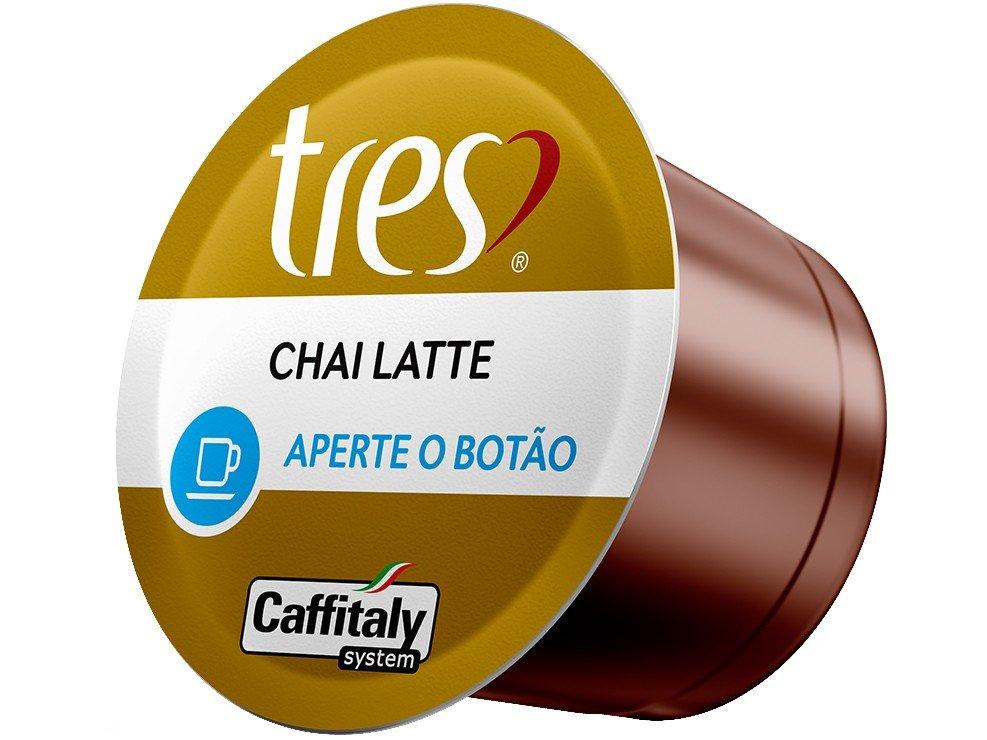 Foto 3 - Cápsula de Chai Latte 3 Corações TRES - 10 Unidades