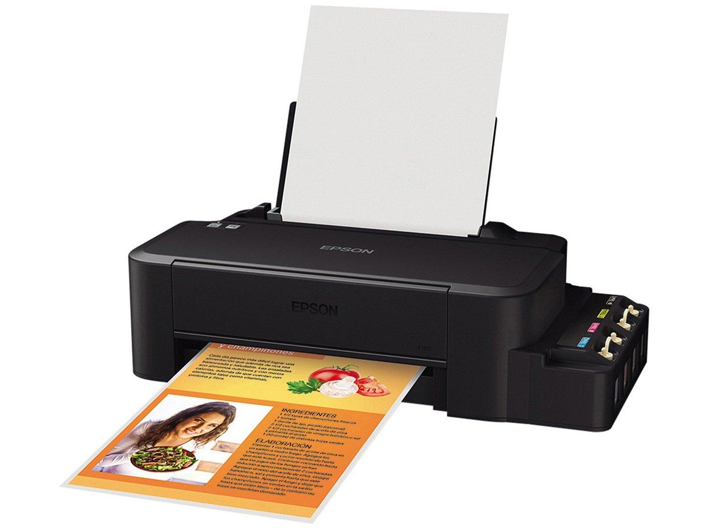 Foto 1 - Impressora Epson EcoTank L120 - Jato de Tinta Colorida USB