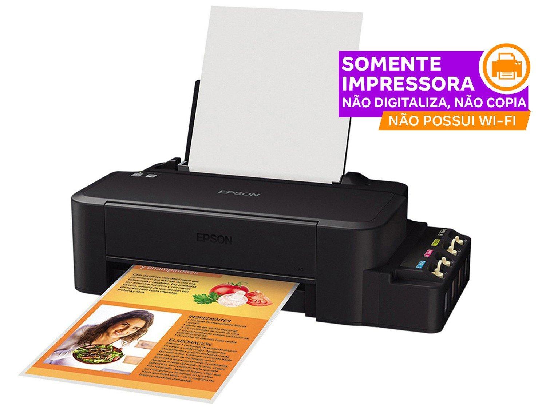 Foto 2 - Impressora Epson EcoTank L120 - Jato de Tinta Colorida USB