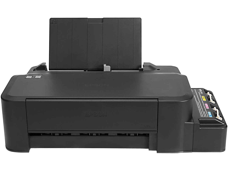 Foto 3 - Impressora Epson EcoTank L120 - Jato de Tinta Colorida USB