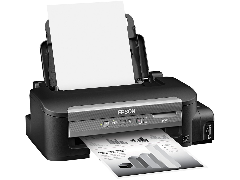 Foto 2 - Impressora Epson Monocromática M105 - Wi-Fi