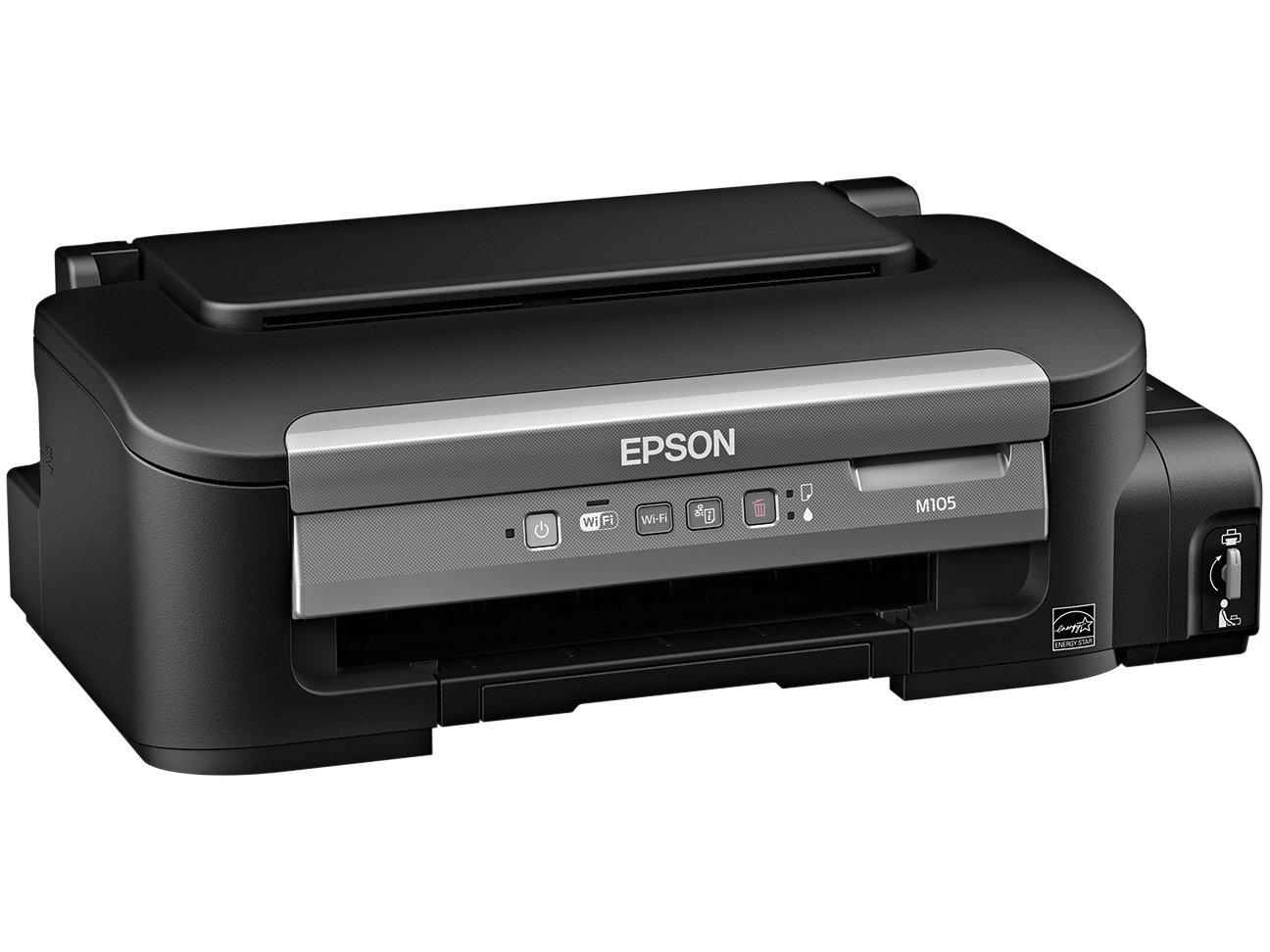 Foto 4 - Impressora Epson Monocromática M105 - Wi-Fi