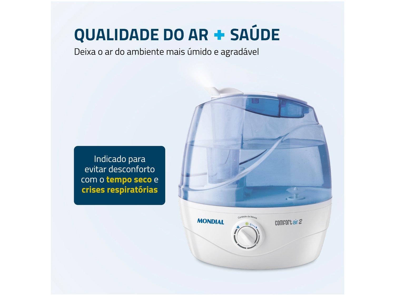 Umidificador de Ar Ultrassônico 2,2L Mondial - Comfort Air 2 - Bivolt - 4