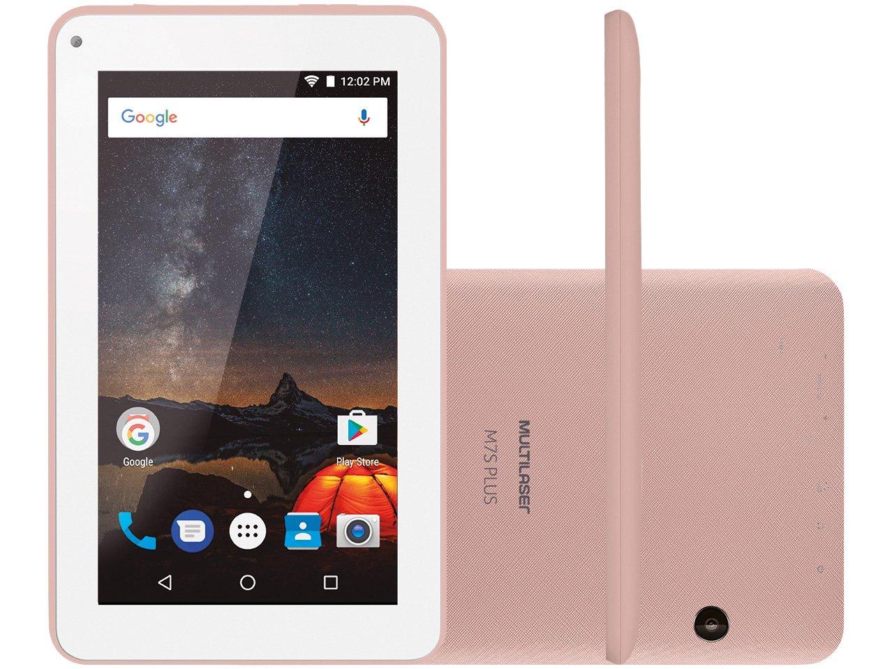 Foto 5 - Tablet Multilaser M7S Plus 8GB 7 Wi-Fi - Android 7.0 Proc. Quad Core Câmera Integrada