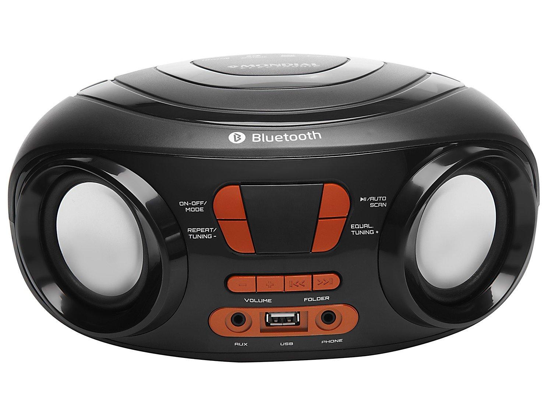 Som Portátil Mondial 8W Display Digital - Up Dynamic BX-19 MP3 - Bivolt