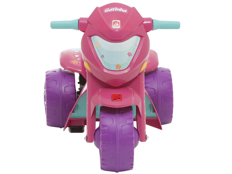 Moto Elétrica Infantil Gatinha 2 Marchas - Bandeirante - Bivolt - 4