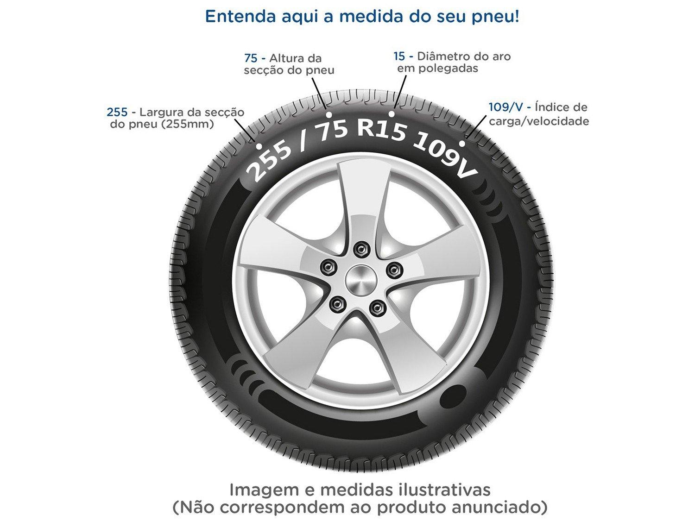 "Pneu Aro 14"" Continental 175/70R14 82T - PowerContact 2 - 12"