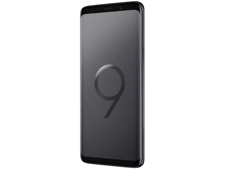 "Smartphone Samsung Galaxy S9 128GB Preto 4G - 4GB RAM Tela 5.8"" Câm. 12MP + Câm. Selfie 8MP - 4"