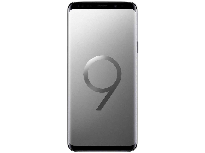 Foto 4 - Smartphone Samsung Galaxy S9+ 128GB Cinza 4G - 6GB RAM Tela 6,2 Câm. Dupla + Câm. Selfie 8MP