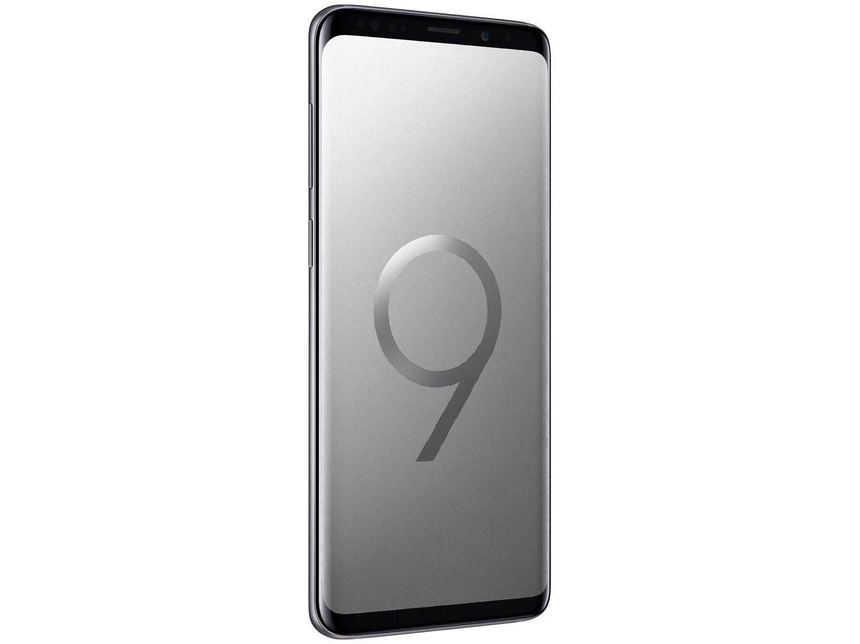 Foto 5 - Smartphone Samsung Galaxy S9+ 128GB Cinza 4G - 6GB RAM Tela 6,2 Câm. Dupla + Câm. Selfie 8MP