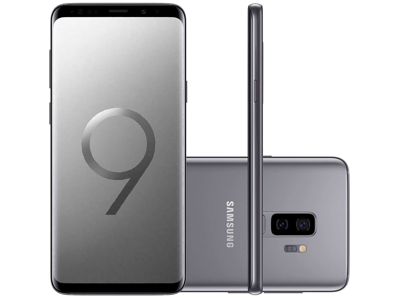 Foto 9 - Smartphone Samsung Galaxy S9+ 128GB Cinza 4G - 6GB RAM Tela 6,2 Câm. Dupla + Câm. Selfie 8MP