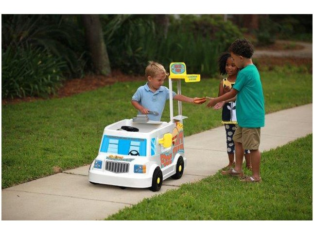 Mini Veículo Elétrico Infantil Food Truck 1 Marcha - 6V Bandeirante - Bivolt - 8