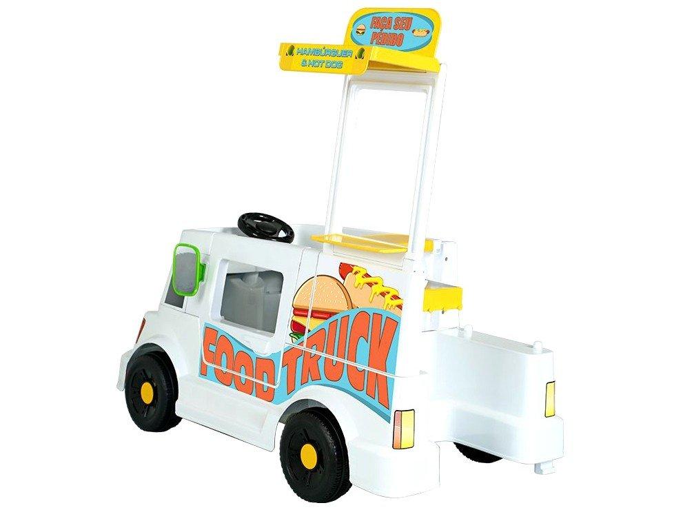 Mini Veículo Elétrico Infantil Food Truck 1 Marcha - 6V Bandeirante - Bivolt - 16