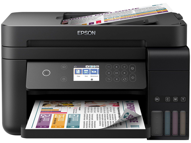 Foto 2 - Impressora Multifuncional Epson EcoTank L6171 - Tanque de Tinta Wi-Fi Colorida USB