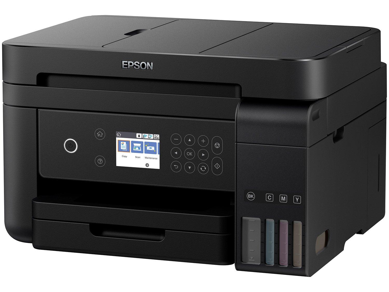 Foto 5 - Impressora Multifuncional Epson EcoTank L6171 - Tanque de Tinta Wi-Fi Colorida USB