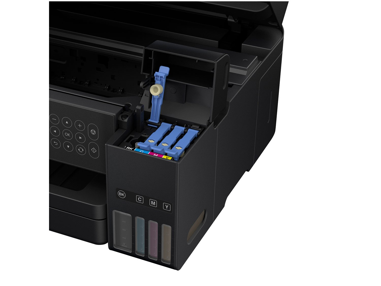 Foto 12 - Impressora Multifuncional Epson EcoTank L6171 - Tanque de Tinta Wi-Fi Colorida USB