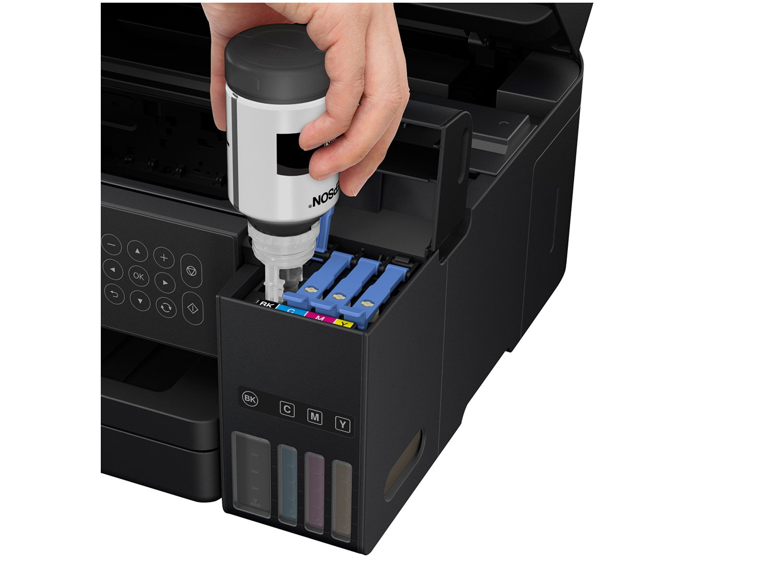 Foto 14 - Impressora Multifuncional Epson EcoTank L6171 - Tanque de Tinta Wi-Fi Colorida USB