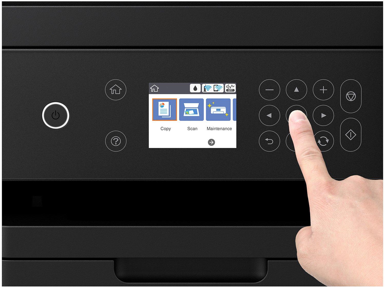 Foto 15 - Impressora Multifuncional Epson EcoTank L6171 - Tanque de Tinta Wi-Fi Colorida USB