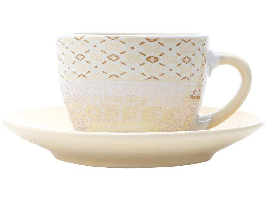 Jogo de Xícara de Chá Porcelana 4 Peças - Bon Gourmet Times - 2