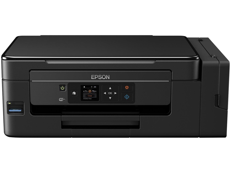 Foto 3 - Impressora Multifuncional Epson EcoTank L495 - Tanque de Tinta Colorida LCD 1,44 Wi-fi USB 2.0