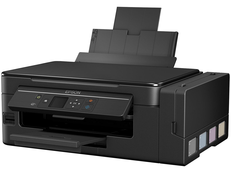 Foto 5 - Impressora Multifuncional Epson EcoTank L495 - Tanque de Tinta Colorida LCD 1,44 Wi-fi USB 2.0
