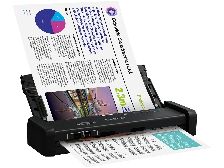 Foto 4 - Scanner Portátil Epson WorkForce ES-200 Colorido - Wireless 600dpi Alimentador Automático