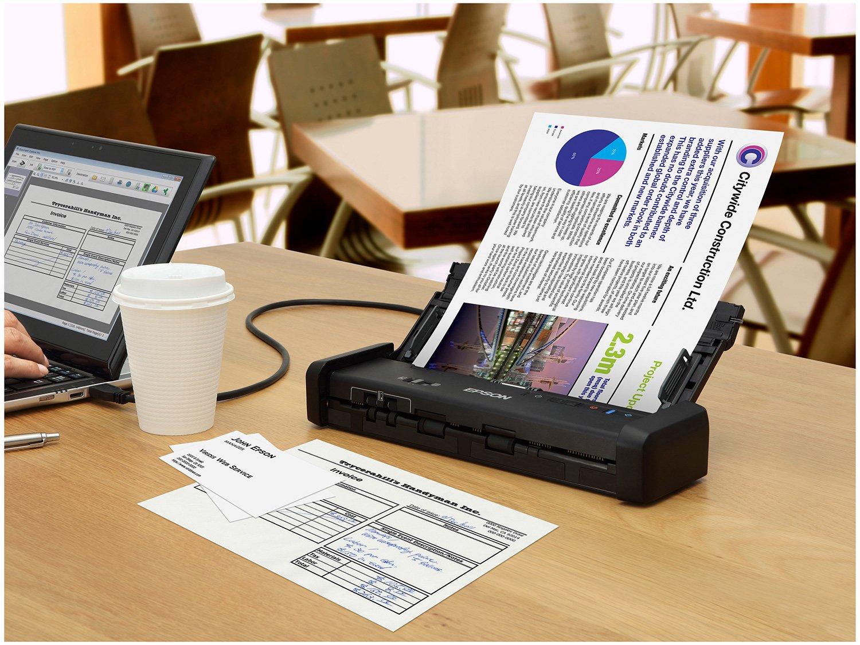 Foto 6 - Scanner Portátil Epson WorkForce ES-200 Colorido - Wireless 600dpi Alimentador Automático